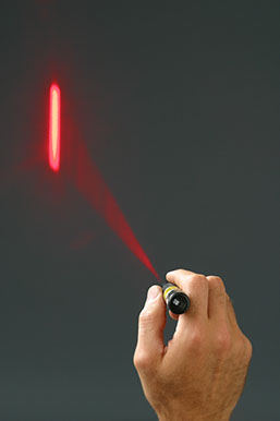 Rescue Laser Flare - Projecting the Line