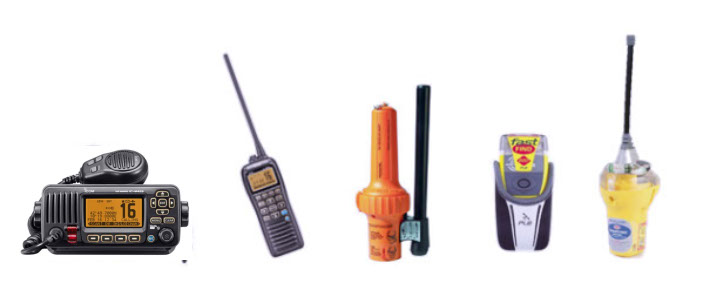 Fixed VHF Radio, Handheld VHF Radio , SART PLB and EPRIB  Group